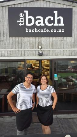 The Bach : The Owner's �� Well done guy's, you've made this place awesome!  Paul & Linda will be back a lot