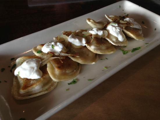 Pierogies Picture Of Baker S Water Street Bar Grille Toms River