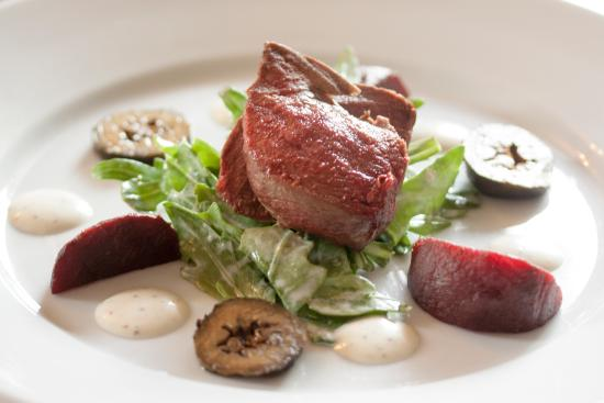 The Eight Bells: Seared Pigeon Breast
