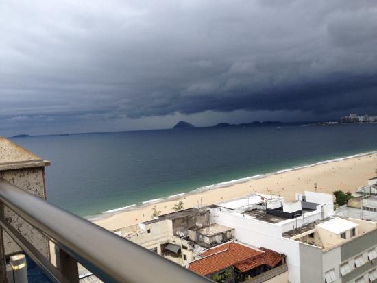 Hotel Novotel Rio de Janeiro Copacabana: Vista da piscina - lindaaaa