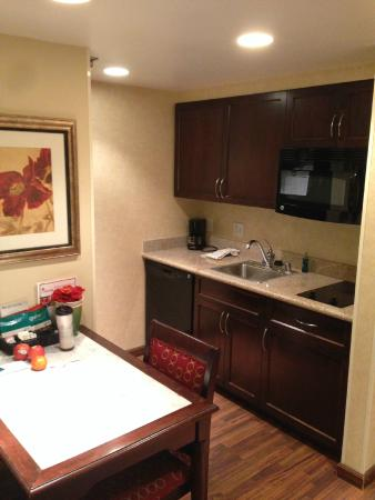 Full Kitchen In Our 2 Bedroom Suite Picture Of Homewood Suites By Hilton Las Vegas Airport