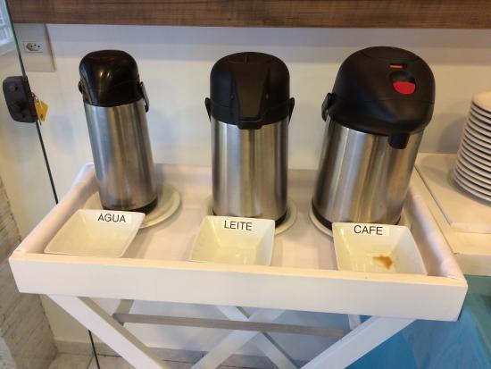 Pousada Villa Atlantica: Café