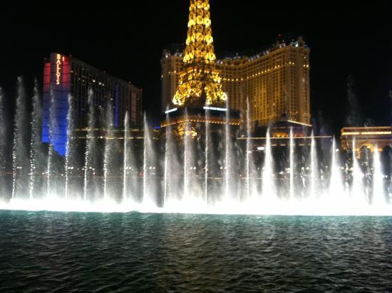 bellagio fountains fuentes de agua del hotel bellagio en las vegas