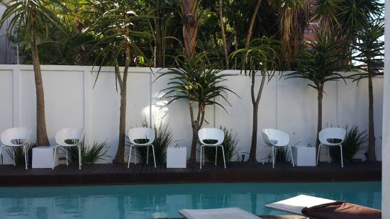 Villa Zest Boutique Hotel: Peaceful and private pool area
