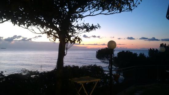 Agriturismo Collarina: vista mattutina dalla camera