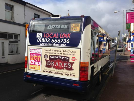 Drake's Fish & Chip Restaurant: Routes 64 and 65 in and around Torquay - have you seen it?