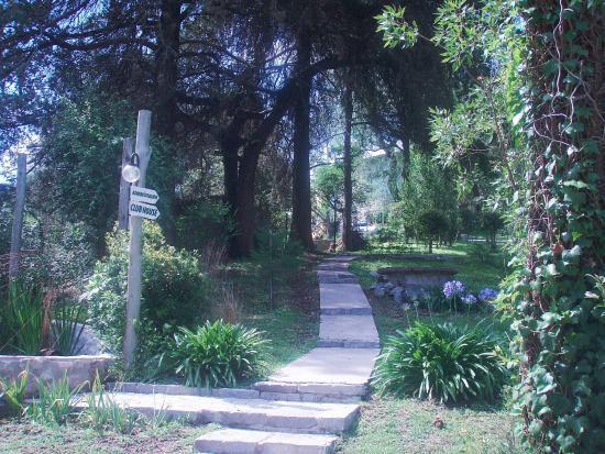 Las Terrazas Resort & Apart-Cabañas: Parque y subida al club-house