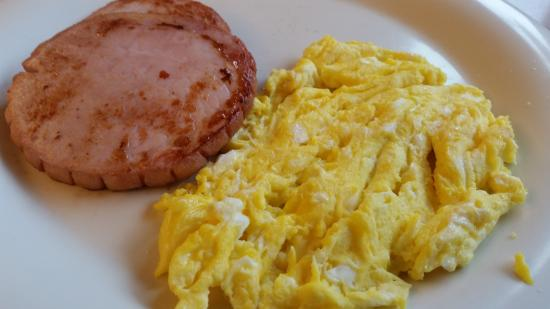 The Golden Nugget Pancake House: Ham and eggs