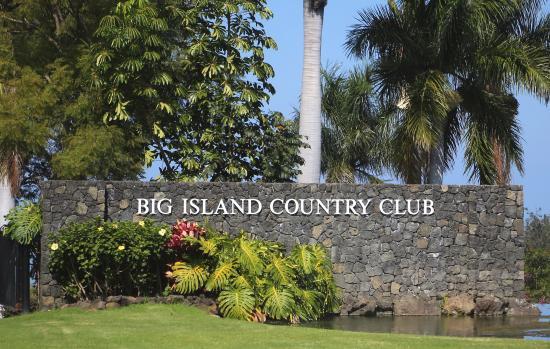 Big Island Country Club : entrance