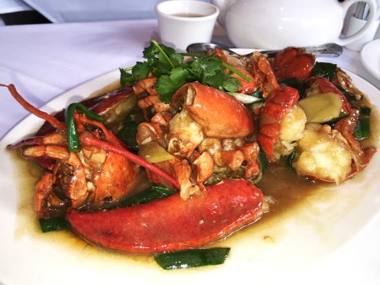 The Famous Lobster Noodles Picture Of Mandarin Kitchen