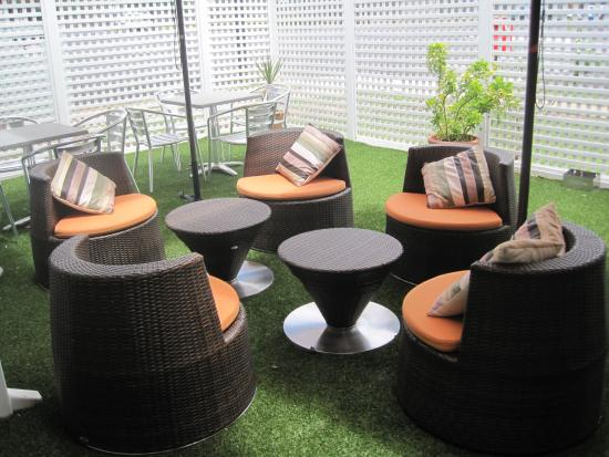 Winning Post Motor Inn: Relax in our private courtyard