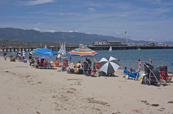 Santa Barbara Waterfront: Day of the Beach