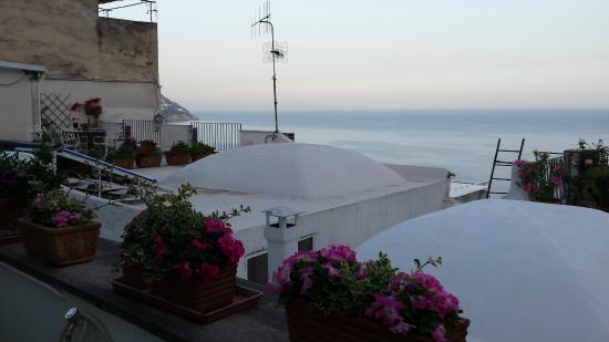 Pensione Casa Guadagno: view from balcony