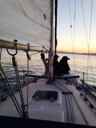 Emeryville, CA: Private Sunset Sail
