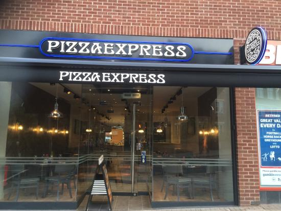 New Pizzaexpress Picture Of Pizza Express Sutton