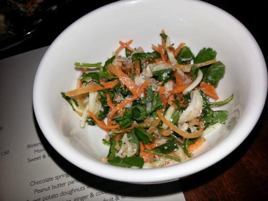 Bam-Bou Restaurant: Entree - Crab & green mango salad