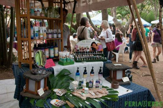 Feria Verde de Aranjuez: Products for the body!