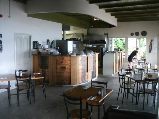 Waterfront Cafe & Bar: Inside restaurant