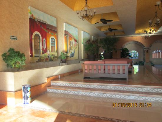 Marina Park Plaza Huatulco : reception area