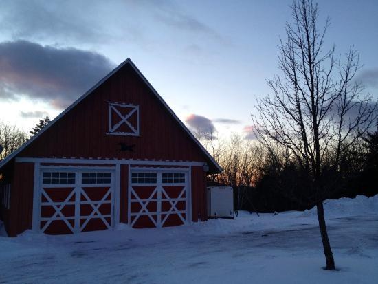 Rose and Goat Retreat: Barn
