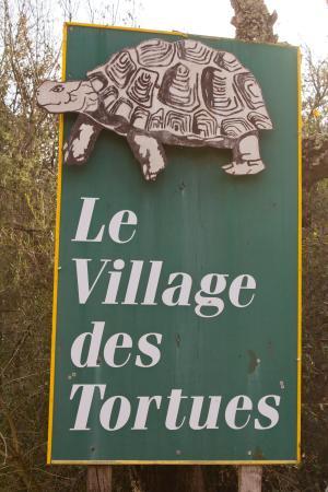 Le village des Tortues : At the entrance