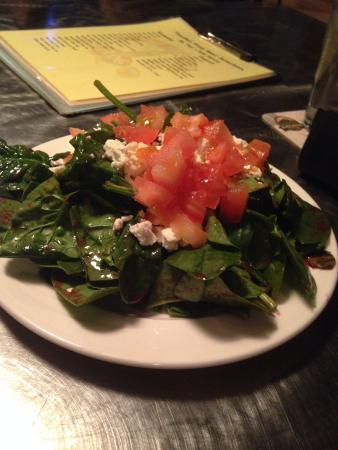 The Toasted Frog: Spinach Salad