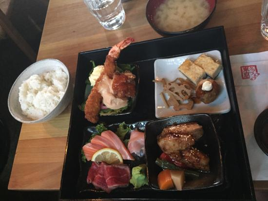bento set picture of tokyo club auckland central tripadvisor. Black Bedroom Furniture Sets. Home Design Ideas