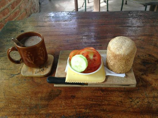 La Casita : A light breakfast