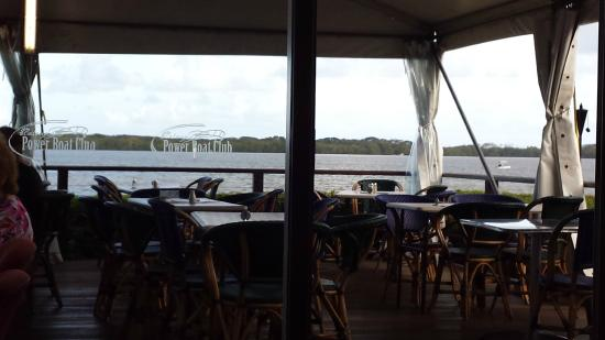 Caloundra Power Boat Club: Deck area (whilst under renovations)