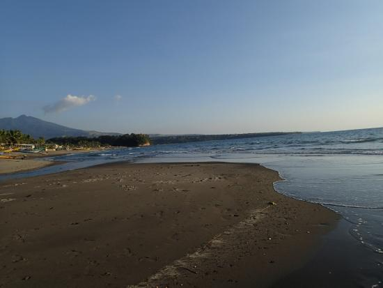 fine grey sand Picture of Fajardo Beach Resort Bagac TripAdvisor