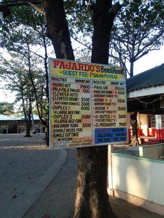Bagac, الفلبين: rates