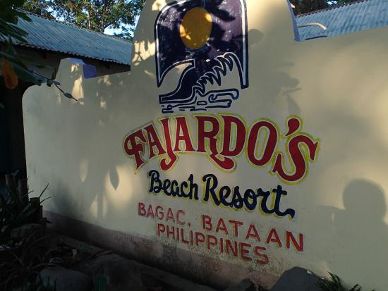 entrance Picture of Fajardo Beach Resort Bagac TripAdvisor