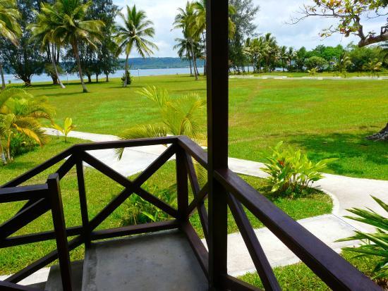 Beachfront Resort: Bungalow vue mer