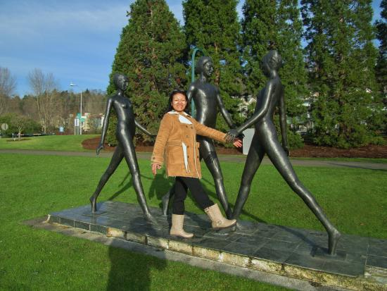 Gene Coulon Memorial Beach Park : Lindo recuerdo
