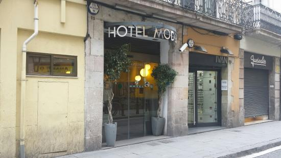 ingresso hotel picture of moderno hotel bcn