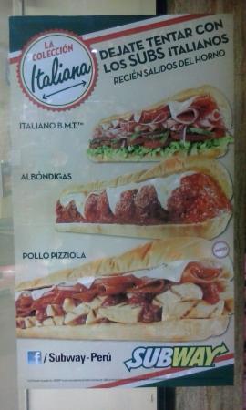 Subway: LOS MEJORES ITALIANOS