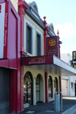 Me Wah Restaurant Launceston: Exterior of the restaurant