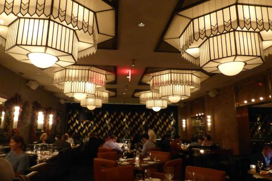 Deco Restaurant New York. Trendy Rustic Restaurant Interior Jones ...