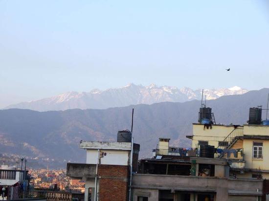 International Guest House: view from rooftop garden