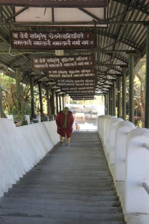 Kunjapuri Devi Temple: Steps Leading to Temple