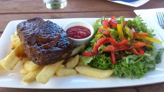 Valley d'Vine Restaurant: Mmmm perfect steak