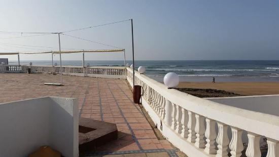 Casablanca Le Lido Thalasso & Spa: Nice sea view