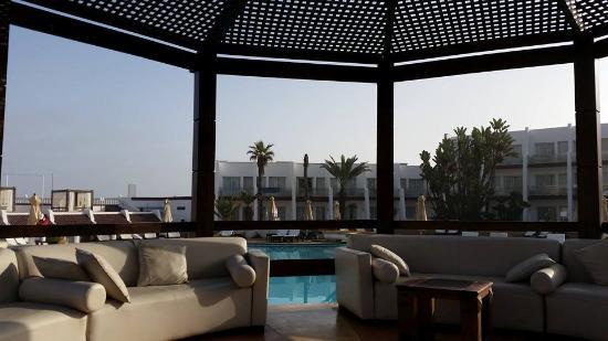 Casablanca Le Lido Thalasso & Spa: Pool area