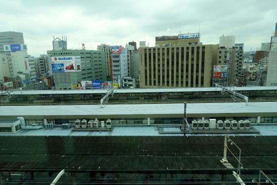 Tororoya, May One: 浜松駅ビルメイワン7F「とろろや」からの眺め