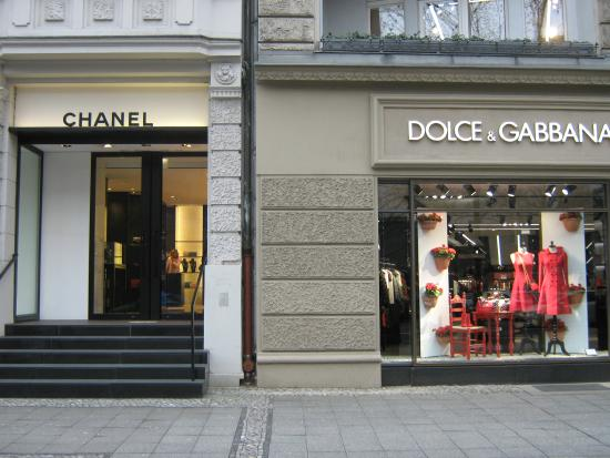 Chanel Berlin chanel and d c picture of kurfurstendamm kurfurstendam berlin