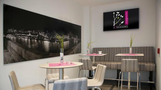 Raucherlounge picture of five seasons designhotel bremen for Designhotel 5 seasons bremen