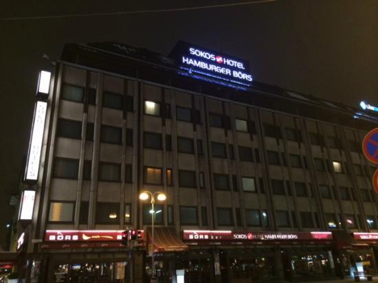 Original Sokos Hotel Hamburger Bors : 外観