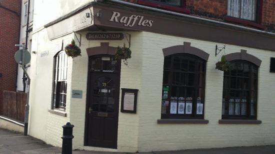 Raffles A La Carte Restaurant