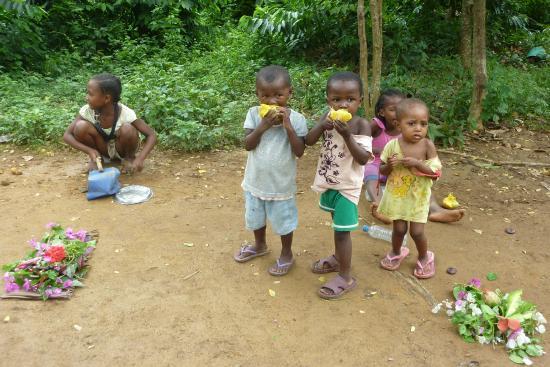 Lokobe Nature Special Reserve: Accoglienza dei bambini