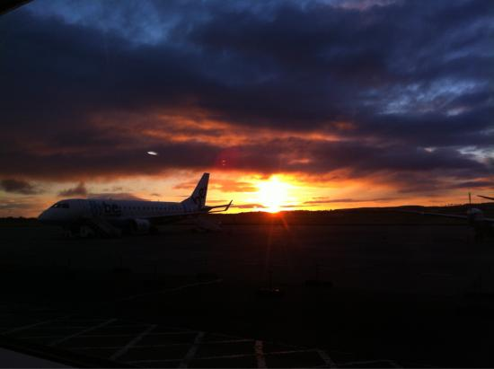 Morven Guest House: Morning at Inverness Airport
